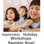 September Holiday Workshops